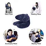 WENDSIM PILLOW----Chin,Neck & Head Supporting Travel Pillow,Reading Pillow & Resting Pillow & Accompany Pillow for airplane & car & train(Patent product)