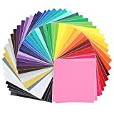 651 vinyl sheets - Oracal Assorted 631 and 651 Vinyl - 48 Pack of Top Colors - 12