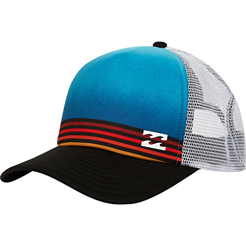 Billabong Men's Range Trucker, Blue, (Billabong Trucker Hat)