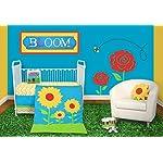 Snuggleberry-Baby-Sunflower-Love-5-Piece-Crib-Bedding-Set-with-Storybook