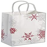 Snowflake Wishes Shoppers, 8 1/4 x 4 3/4 x 10 1/2''