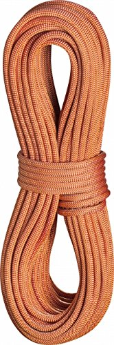 [EDELRID - Boa Pro Dry 9.8mm Climbing Rope, 70m, Glowing Red] (70m Dry Rope)