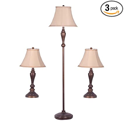 Adesso 1587 26 classic lamp set containing matching floor lamp and adesso 1587 26 classic lamp set containing matching floor lamp and two table lamps aloadofball Image collections