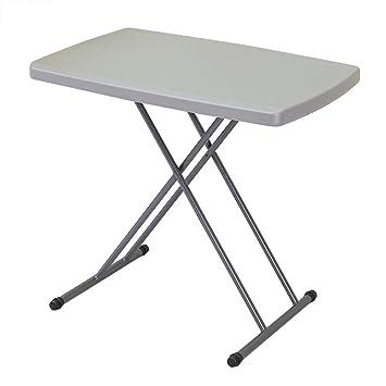 Table pliante Table Pliante, Table Pliante Réglable En Hauteur ...