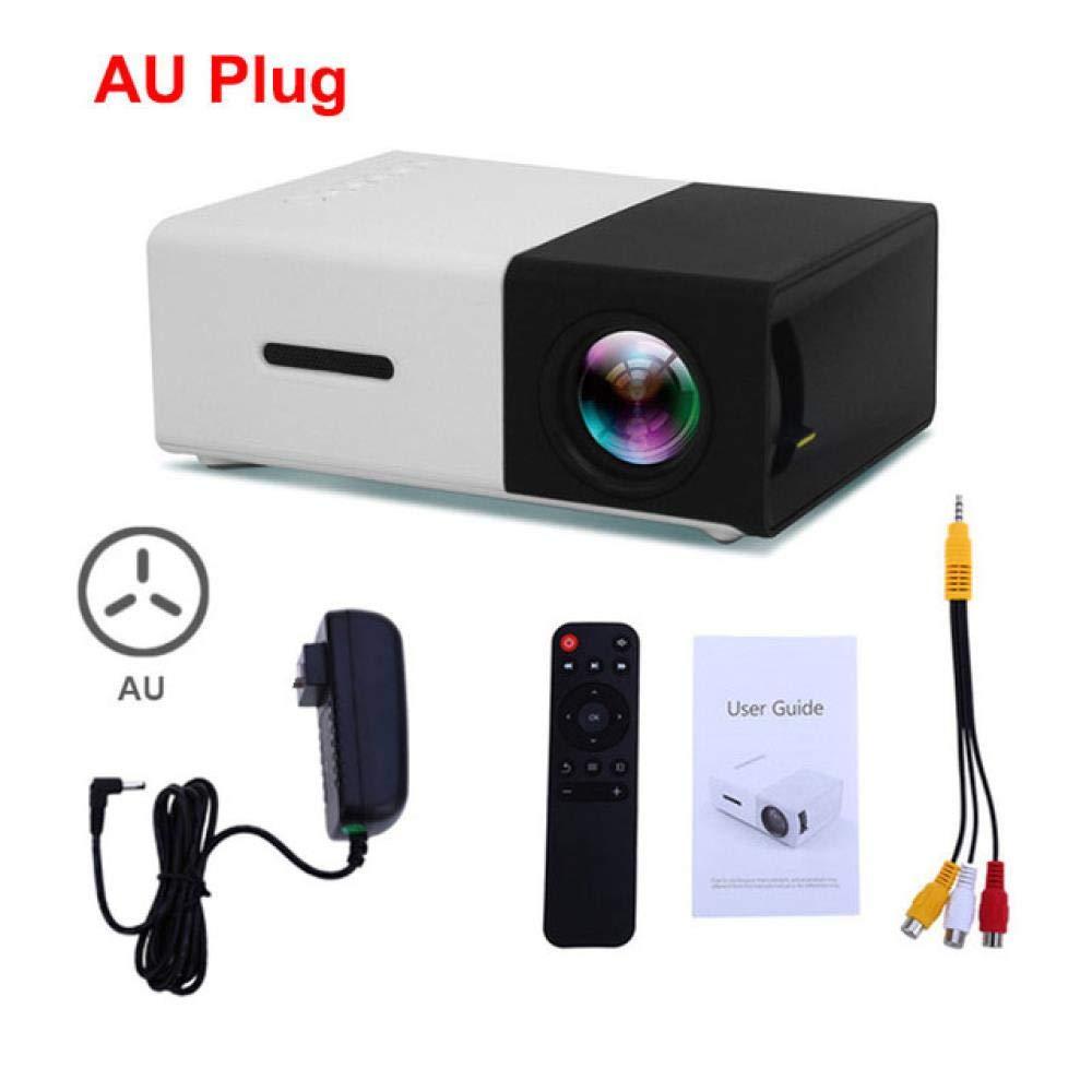 WXCZ Proyector Led 600 Lúmenes 3.5Mm Audio 320X240 Píxeles Hdmi ...