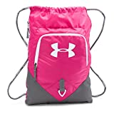 Under Armour Undeniable Sackpack, Tropic Pink/Graphite, One Size