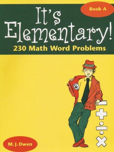 Read Online It's elementary: 230 math word problems ebook