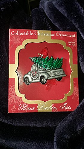 Gloria Duchin Pewter Retro Antique Truck Christmas Ornament, Multi by Gloria Duchin