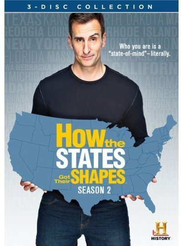 (How the States Got Their Shapes: Season 2 [DVD])