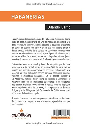 Habanerías: Crónicas costumbristas de la capital de Cuba (Spanish Edition): Orlando Carrió: 9788416953622: Amazon.com: Books