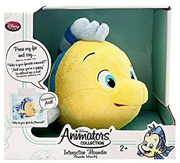 Disney The Little Mermaid Animators Collection Interactive Flounder 10 Plush by tigernix