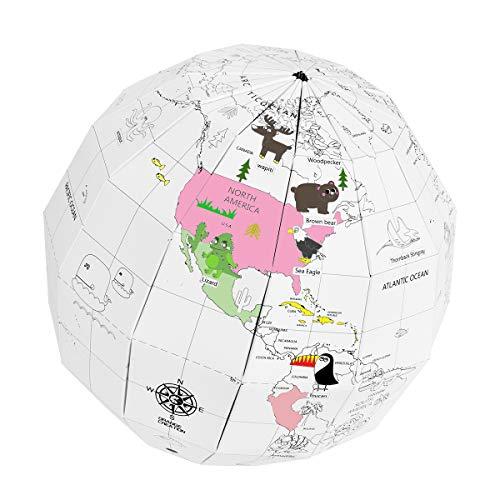 Earth Section Cross Model (World Globe for Kids 8