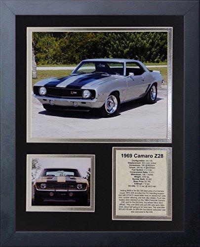 Legends Never Die 1969 Chevy Camaro Z28 Framed Photo Collage, 11