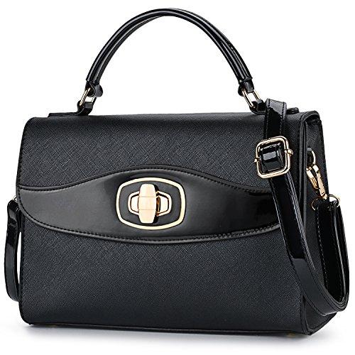 Womens Crossbody Bag,COOFIT Small Handbags Faux Leather Messenger Shoulder Handbags for women