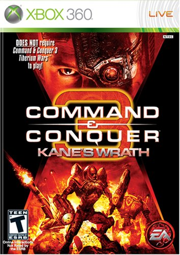 Command & Conquer 3: Kane's Wrath - Xbox 360 (Command And Conquer Red Alert 3 Units)