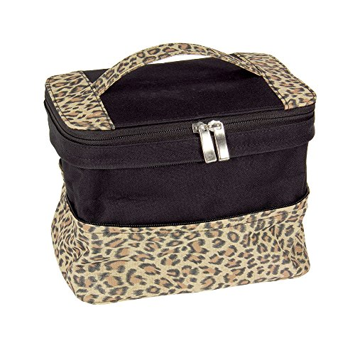 Household Essentials Expandable Travel Leopard