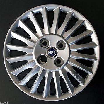 Tapacubos azul Fiat Grande Punto 38 cm 1 tapacubos. Si se necesita un juego, es necesario cambiar la cantidad a 4.: Amazon.es: Coche y moto