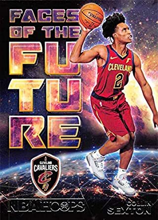 2018-19 NBA Hoops Faces of the Future  8 Collin Sexton Cleveland Cavaliers  Official 4e4598f1e