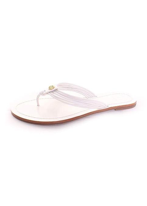 3cd0a1687cfc Tory Burch Sienna Thong Sandal in White  Amazon.ca  Shoes   Handbags