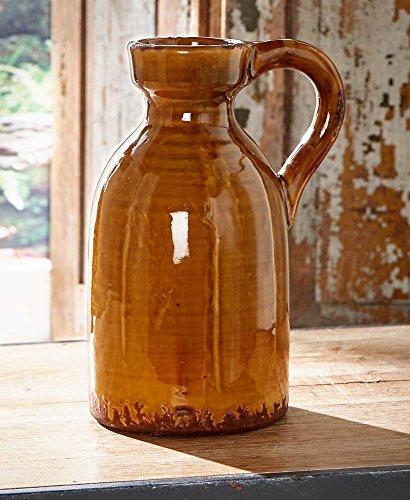 (LTD Rustic Ceramic Pottery Vase, Pitcher)