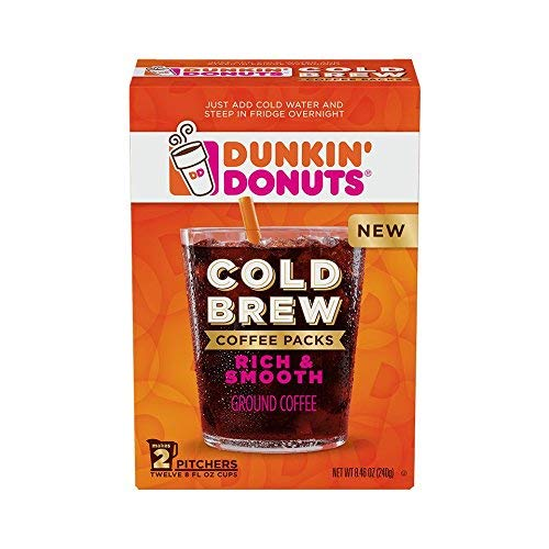 Cold Brew Coffee Packs 4 Boxes