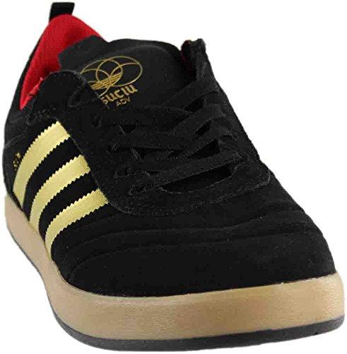 adidas Suciu ADV Skate Shoes Mens Core Black / Gold Foil / Gum