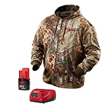 Milwaukee 2383 / 2383-s M12 Realtree Xtra Camo Heated Hoodie Jacket Kit (SMALL)