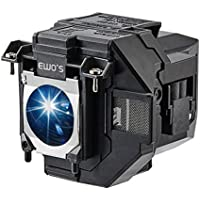 EWOS Replacement Projector Lamp for ELPLP96 Epson Powerlite Home Cinema 2100 2150 1060 660 760hd VS250 VS350 VS355 EX9210 EX9220 EX3260 EX5260 EX7260 Lamp Bulb Replacement