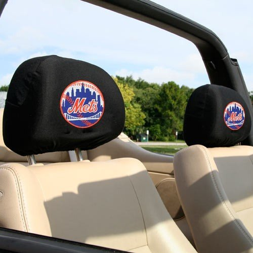Team Promark MLB New York Mets Headrest Covers