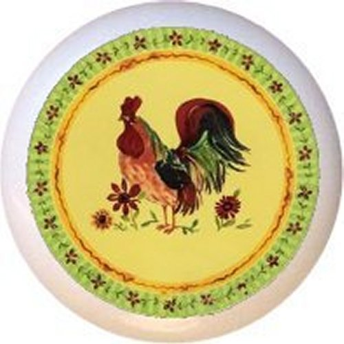 corelle rooster plates - 7