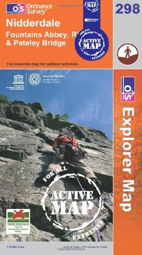 Nidderdale (OS Explorer Map Active) by Ordnance Survey (2006-03-13)