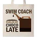 Inktastic - Funny Swim Coach Gift Tote Bag Natural dfdf