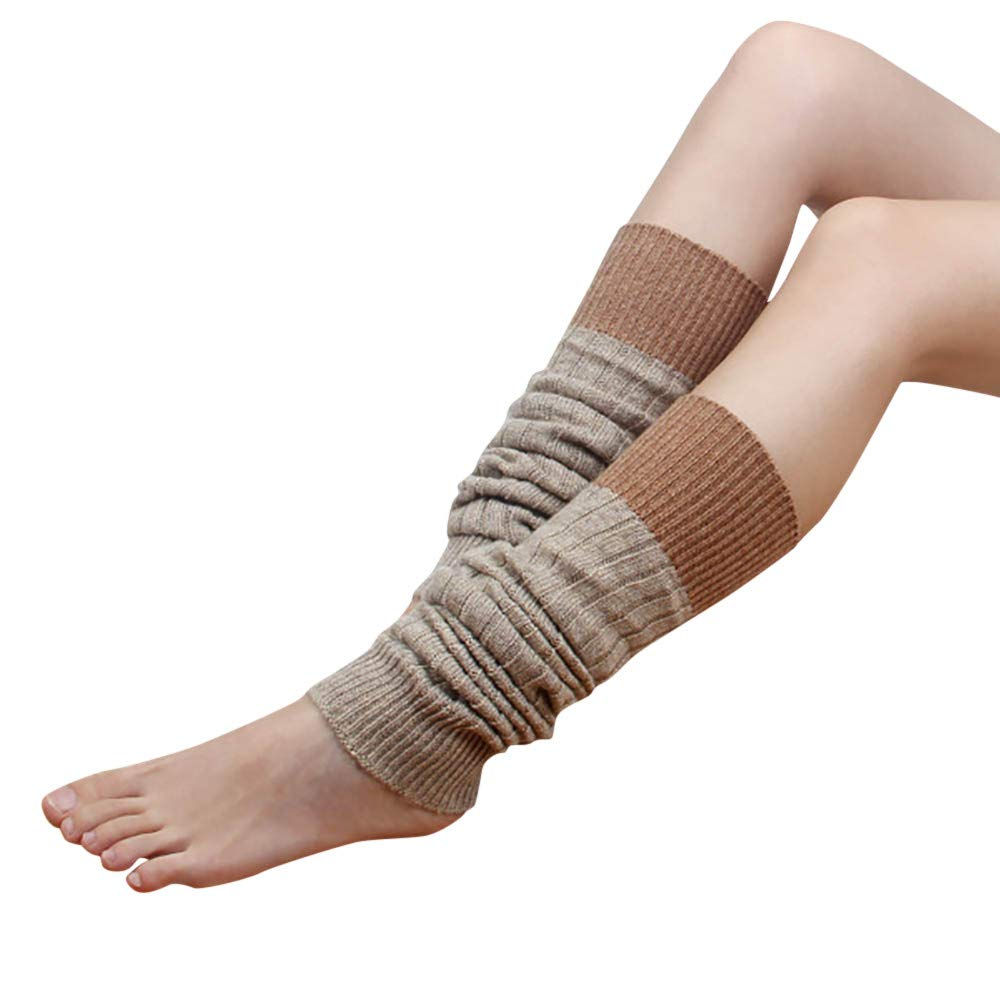 Fashion Socks in Londony ♥‿♥ Winter Cozy Slouch Top Over The Knee High Knit Boot Socks