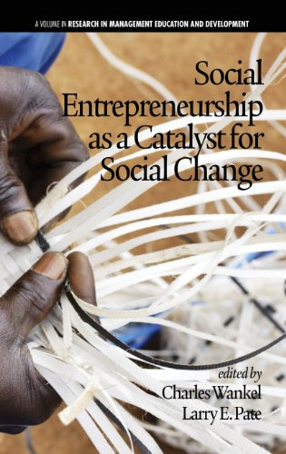 Social Entrepreneurship as a Catalyst for Social Change (Hc) (Research in Management Education and Development)
