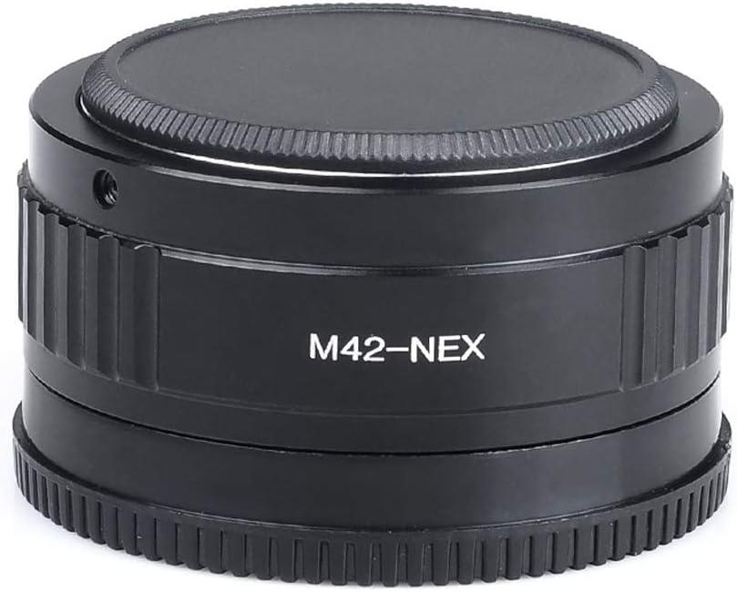 Yunchenghe M42-NEX Lens Adapter for M42 Mount Lens for Sony NEX E-Mount Camera