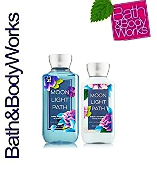 Bath and Body Works Signature Classics Pleasures Collection Body Lotion and Shower Gel Gift Set Men or Women Moonlight Path