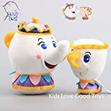 Good 2pcs/set New Potts & Chip Plush Toy Soft Doll
