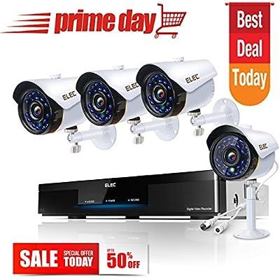 ELEC 720P Indoor/Outdoor Home Security Camera System CCTV