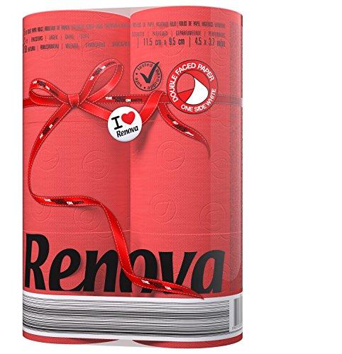 Renova Toilet Tissue - Red Paper (6 Roll Standard Pack)