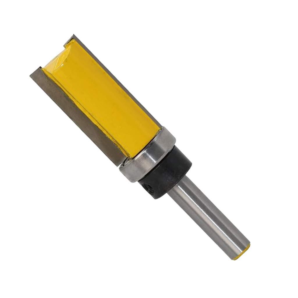 KESOTO Bü ndigfrä ser mit Kugellager Holzschneider Router Bit fü r Trimm Carving Tool, 8mm Schaft - 4#