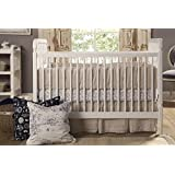 Franklin & Ben Liberty 3-in-1 Convertible Crib with Toddler Bed Conversion Kit