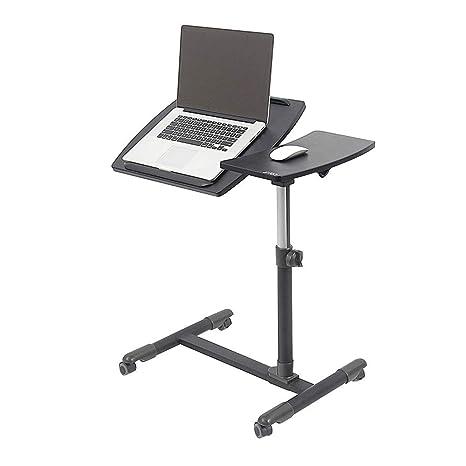 Amazon.com: Bseack - Mesa de café con ruedas y altura ...