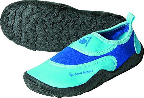 Aqua Sphere Kinder Beachwalker Neopren Wasser/Strand Schuh Blau/Hellblau