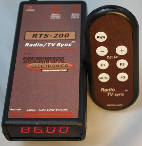 RTS-200C RadioTVsync 0-86 Second Audio Delay