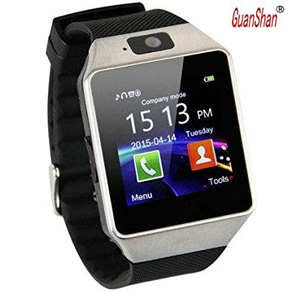 Amazon.com: GuanShan Bluetooth Smart Watch DZ09 Relojes ...