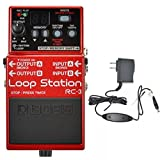 Boss RC-3 Loop Station and Boss PSA-120S2 Power Supply