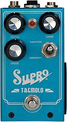 - Supro Tremolo - Amplitude and Harmonic Tremolo & Drive Pedal