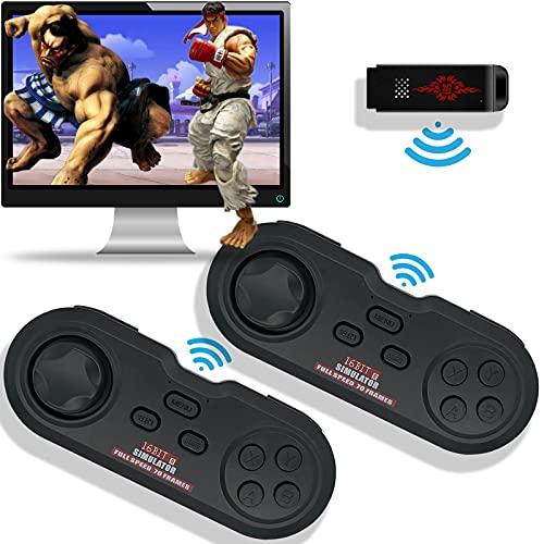 YOUTUOY 게임 콘솔 비디오 게임 콘솔 게임 콘솔장에서 게임 무선 에뮬레이터를 콘솔 지원 게임 다운로드 확장 기능을 위한 선물 아이들과 성인