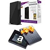 NETGEAR AC1750 (16x4) Wi-Fi Cable Modem Router (C6300) DOCSIS 3.0 & $25 Amazon Gift Card