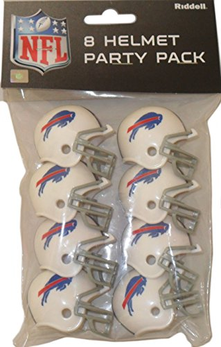 Football Mini Helmet Bills Buffalo - Riddell Buffalo Bills Team Helmet Party Pack